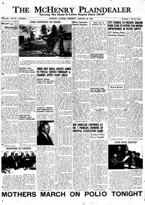 McHenry Plaindealer (McHenry, IL), 28 Jan 1960