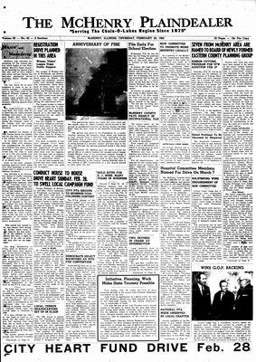 McHenry Plaindealer (McHenry, IL), 25 Feb 1960
