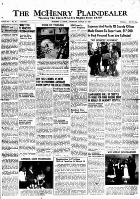 McHenry Plaindealer (McHenry, IL), 10 Mar 1960