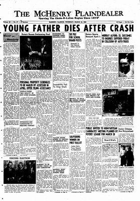 McHenry Plaindealer (McHenry, IL), 24 Mar 1960
