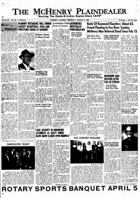 McHenry Plaindealer (McHenry, IL), 31 Mar 1960