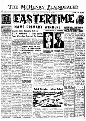 McHenry Plaindealer (McHenry, IL), 14 Apr 1960
