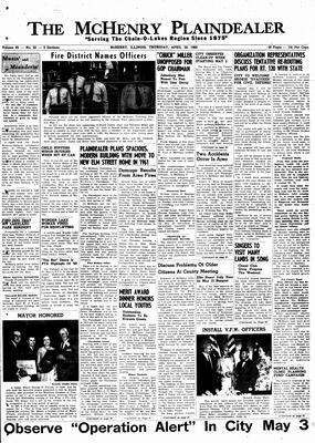 McHenry Plaindealer (McHenry, IL), 28 Apr 1960
