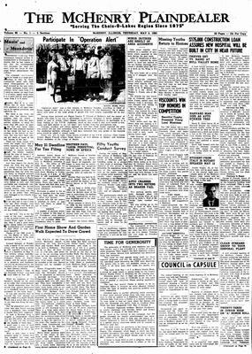 McHenry Plaindealer (McHenry, IL), 5 May 1960