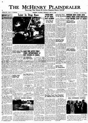 McHenry Plaindealer (McHenry, IL), 19 May 1960