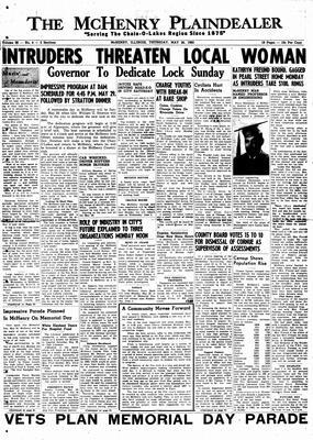 McHenry Plaindealer (McHenry, IL), 26 May 1960