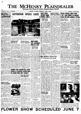 McHenry Plaindealer (McHenry, IL), 9 Jun 1960