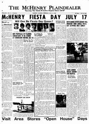 McHenry Plaindealer (McHenry, IL), 14 Jul 1960