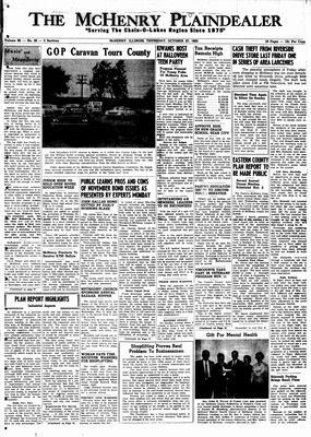 McHenry Plaindealer (McHenry, IL), 27 Oct 1960