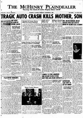 McHenry Plaindealer (McHenry, IL), 8 Dec 1960