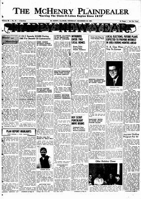 McHenry Plaindealer (McHenry, IL), 29 Dec 1960
