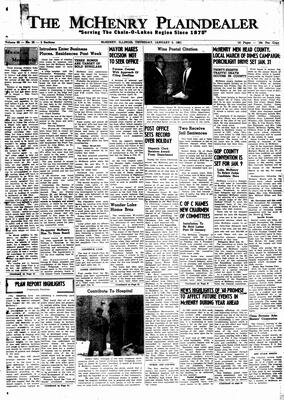 McHenry Plaindealer (McHenry, IL), 5 Jan 1961