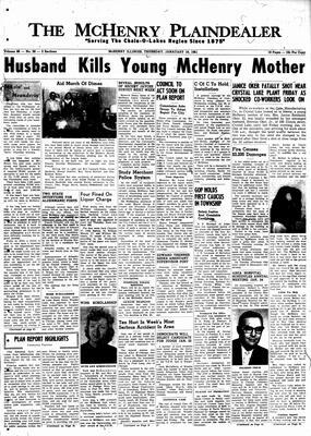 McHenry Plaindealer (McHenry, IL), 19 Jan 1961