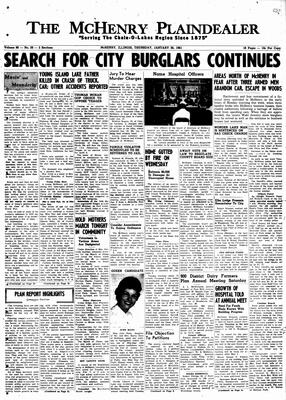 McHenry Plaindealer (McHenry, IL), 26 Jan 1961