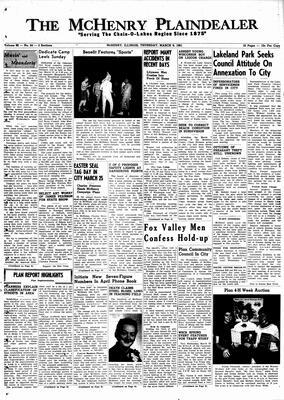 McHenry Plaindealer (McHenry, IL), 9 Mar 1961