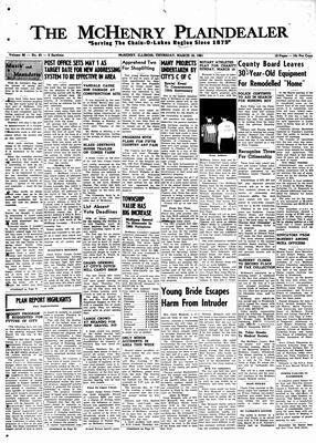 McHenry Plaindealer (McHenry, IL), 16 Mar 1961