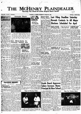 McHenry Plaindealer (McHenry, IL), 23 Mar 1961