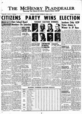 McHenry Plaindealer (McHenry, IL), 6 Apr 1961