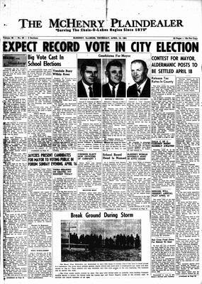 McHenry Plaindealer (McHenry, IL), 13 Apr 1961