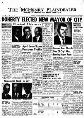 McHenry Plaindealer (McHenry, IL), 20 Apr 1961