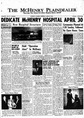 McHenry Plaindealer (McHenry, IL), 27 Apr 1961