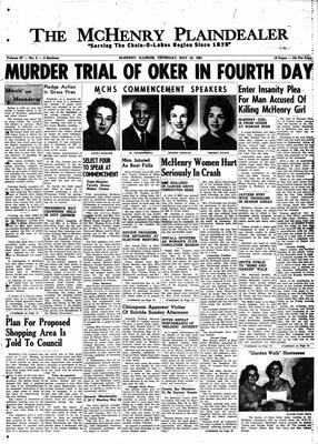 McHenry Plaindealer (McHenry, IL), 18 May 1961
