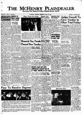 McHenry Plaindealer (McHenry, IL), 25 May 1961