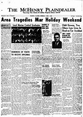 McHenry Plaindealer (McHenry, IL), 1 Jun 1961