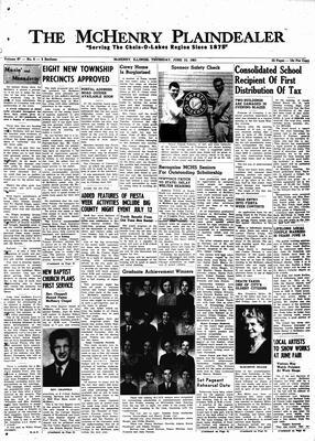McHenry Plaindealer (McHenry, IL), 15 Jun 1961