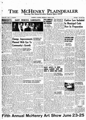 McHenry Plaindealer (McHenry, IL), 22 Jun 1961