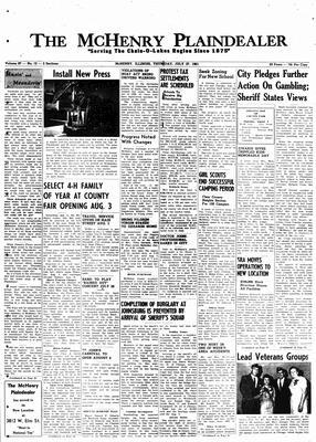 McHenry Plaindealer (McHenry, IL), 27 Jul 1961