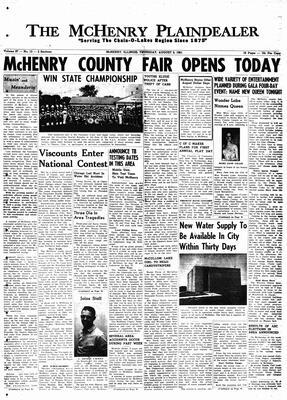 McHenry Plaindealer (McHenry, IL), 3 Aug 1961