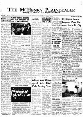 McHenry Plaindealer (McHenry, IL), 31 Aug 1961