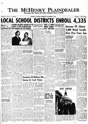 McHenry Plaindealer (McHenry, IL), 7 Sep 1961
