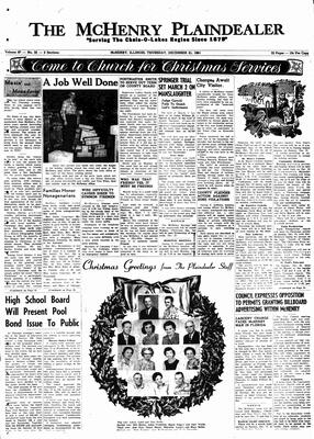 McHenry Plaindealer (McHenry, IL), 21 Dec 1961