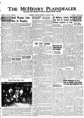 McHenry Plaindealer (McHenry, IL), 4 Jan 1962