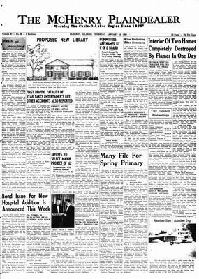 McHenry Plaindealer (McHenry, IL), 18 Jan 1962