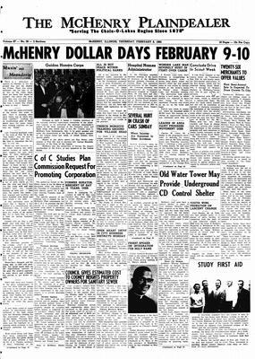 McHenry Plaindealer (McHenry, IL), 8 Feb 1962