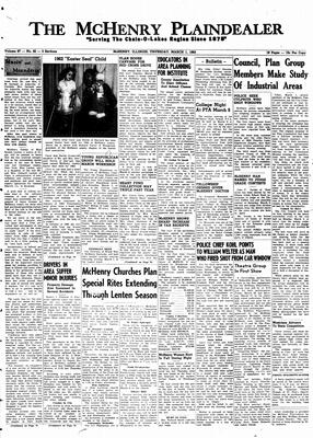 McHenry Plaindealer (McHenry, IL), 1 Mar 1962