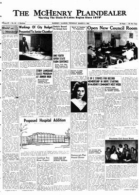 McHenry Plaindealer (McHenry, IL), 8 Mar 1962