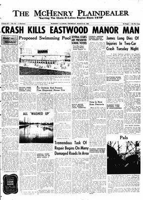 McHenry Plaindealer (McHenry, IL), 22 Mar 1962