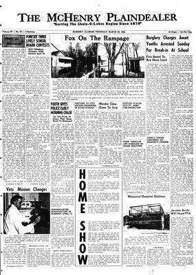 McHenry Plaindealer (McHenry, IL), 29 Mar 1962