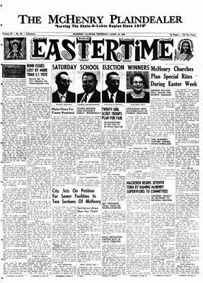McHenry Plaindealer (McHenry, IL), 19 Apr 1962