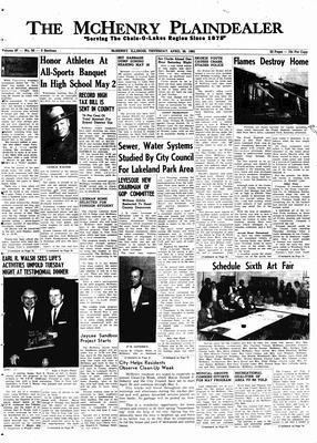 McHenry Plaindealer (McHenry, IL), 26 Apr 1962