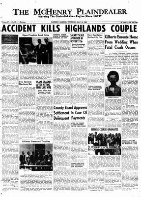 McHenry Plaindealer (McHenry, IL), 10 May 1962