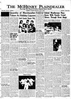 McHenry Plaindealer (McHenry, IL), 19 Jul 1962