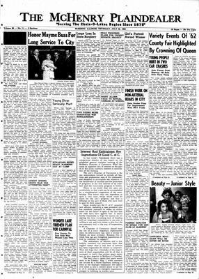 McHenry Plaindealer (McHenry, IL), 26 Jul 1962