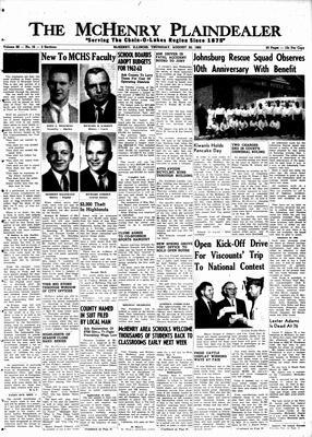 McHenry Plaindealer (McHenry, IL), 30 Aug 1962