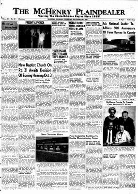 McHenry Plaindealer (McHenry, IL), 27 Sep 1962