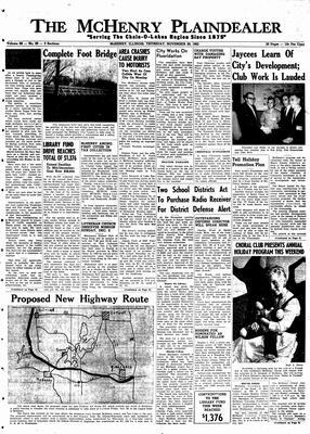 McHenry Plaindealer (McHenry, IL), 29 Nov 1962
